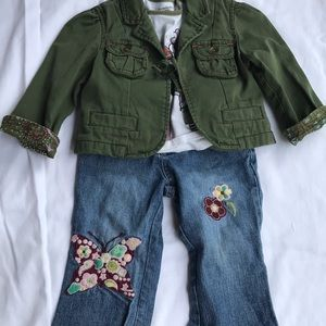 3 piece outfit Baby Gap Jacket